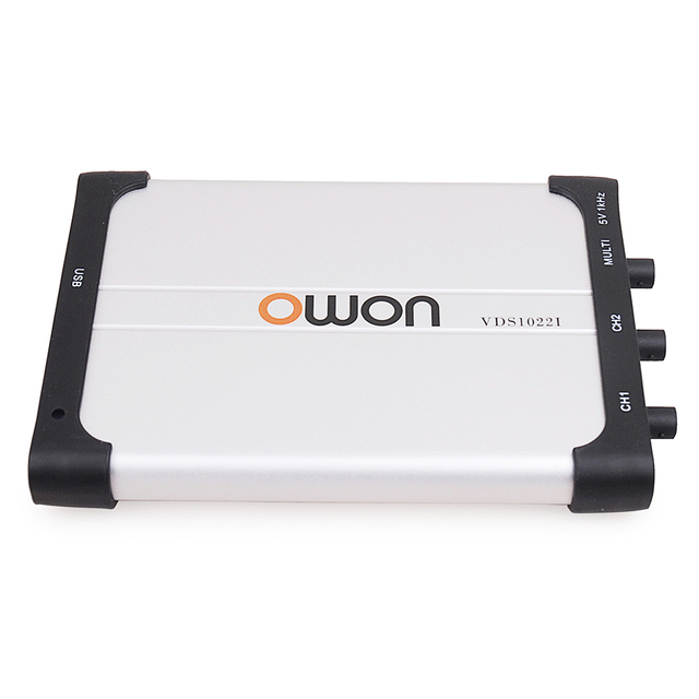 New Price OWON VDS1022I 25MHz 100MSa/s Sample Rate 2/ 4 channels PC Digital Oscilloscope