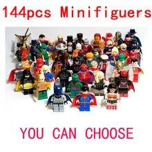 Minifiguers характер бэтмен звездные войны NINJAGO 5шт-паук железный человек мстители CHIMN пираты карибского моря 8 / установить совместимость с Lego