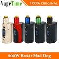 Оригинал Wismec RX2/3 TC Mod Kit W/Desire Mad Dog RDA распылитель 150 Вт/200 Вт Reuleaux Мод Против Только RX23 ПОЛЕ Mod Электронная Сигарета
