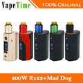 Original Wismec RX2/3 TC Mod Kit W/ Desire Mad Dog RDA Atomizer 150w/200W Reuleaux Mod Vs Only RX23 BOX Mod Electronic Cigarette