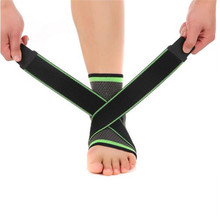 Ankle Brace Weaving Elastic Nylon Strap Ankle Support Brace Basketball Football Badminton Taekwondo Fitness Heel Protector