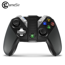 Orignal GameSir G4s Gamepad with Case Bluetooth 2.4GHz Wireless Wired Joystick PC for Android Windows PC TV BOX VR Games for PS3