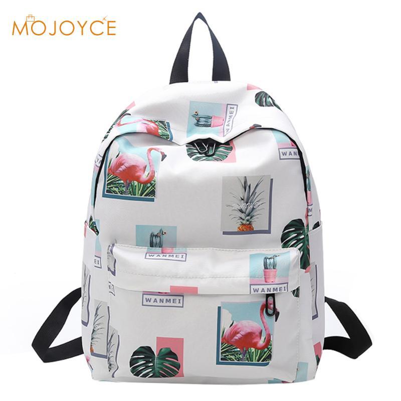 2018 Original Designer Flamingo Backpacks Brand Women Bags Fashion Flamingo Printing Backpack For Teenage Girls Laptop Backpack сотовый телефон apple iphone xs max 64gb space grey mt502ru a