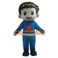 Головка пены Маскоты костюмы первой помощи и прохладный детская одежда мини Супермен Маскоты костюм для Хэллоуина вечерние события
