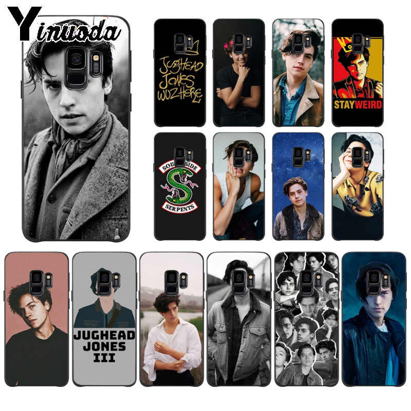 Yinuoda American tv riverdale Jughead Jones Photo Soft Phone Case for Samsung S9 S9 plus S5 S6 S6edge S6plus S7 S7edge S8 S8plus
