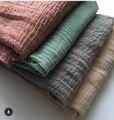 H12 10pcs dhl crinkle cotton viscose  hijab muslim scarf wrap hawl ,180*95cm can choose colors
