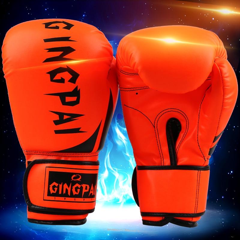 Shiv Naresh Teens Boxing Gloves 12oz: PRETORIAN MUAY THAI TWINS PU LEATHER BOXING GLOVES ADULT