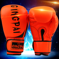 PRETORIAN MUAY THAI TWINS PU LEATHER BOXING GLOVES ADULT MEN WOMEN TRAINING MMA SPARRING BOX GLOVES 6 COLORS GUANTES DE BOXEO