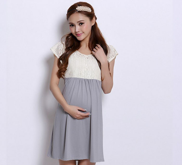 95bacf8d9ab74 New 2015 Fashion dresses for pregnant women Maternity cute Dresses summer Pregnant  Women Plus Size Loose Dress Clothing-in Dresses from Women's Clothing on ...