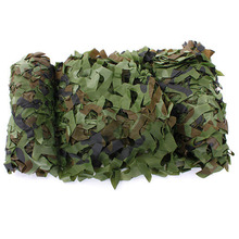 7m x 1.5m Woodland Camouflage Net Shooting Hide Army Hunting Camo Netting