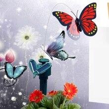 Развевающиеся бабочек диу батареях солнечных летающий танцы # сад украшения