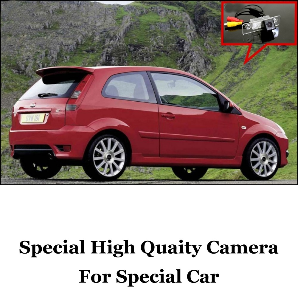 Car Camera For Ford Fiesta ST MK5  Classic  Ikon 2002~2008 High Quality Rear View Back Up Camera For TOPGEAR Fans  CCD + RCA Car