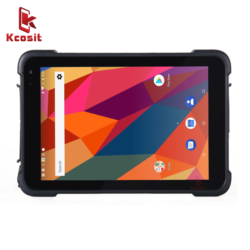 2019 China KT86 Handheld Mobile Tablet PC Android 8.1 GMS Play Store Rugged Waterproof  8 Inch Quad Core Shockproof Mini GPS