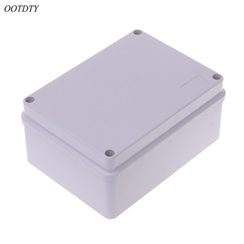 OOTDTY 150x110x70mm caja de conexiones ABS Adaptable IP55 impermeable a prueba de intemperie