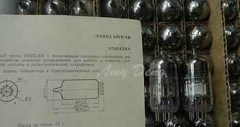 Veneno sonido larga vida de la Unión Soviética oro 6H2N-EB recto 6N2 6H2N/6H2 tubo nuevo preciso
