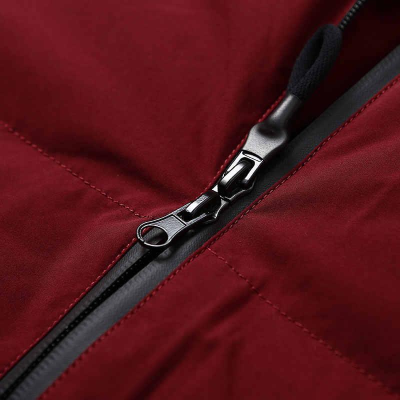 BOSIDENG зимняя утепленная 90% белая куртка на гусином пуху женское пуховое пальто с широкой талией x-длинная парка Водонепроницаемая свободная B70146224