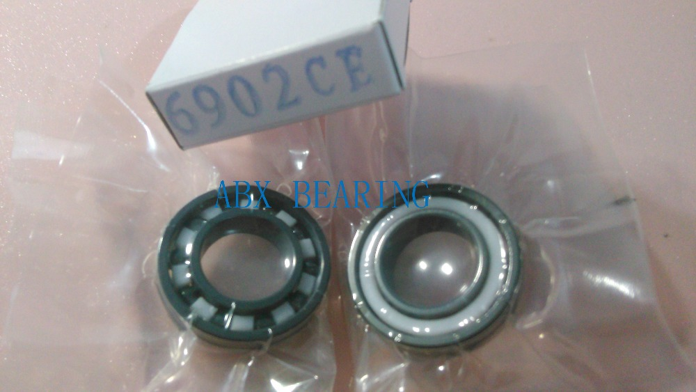 6902 full SI3N4 ceramic deep groove ball bearing 15x28x7mm 61902 6902 full zro2 ceramic deep groove ball bearing 15x28x7mm full complement 61902