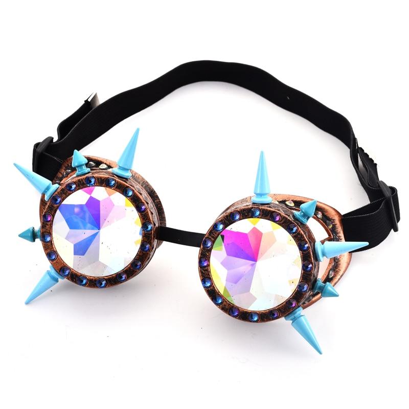 Novelty Lens Retro Steam Punk Goggles Steampunk Glasses Vintage Welding Gothic