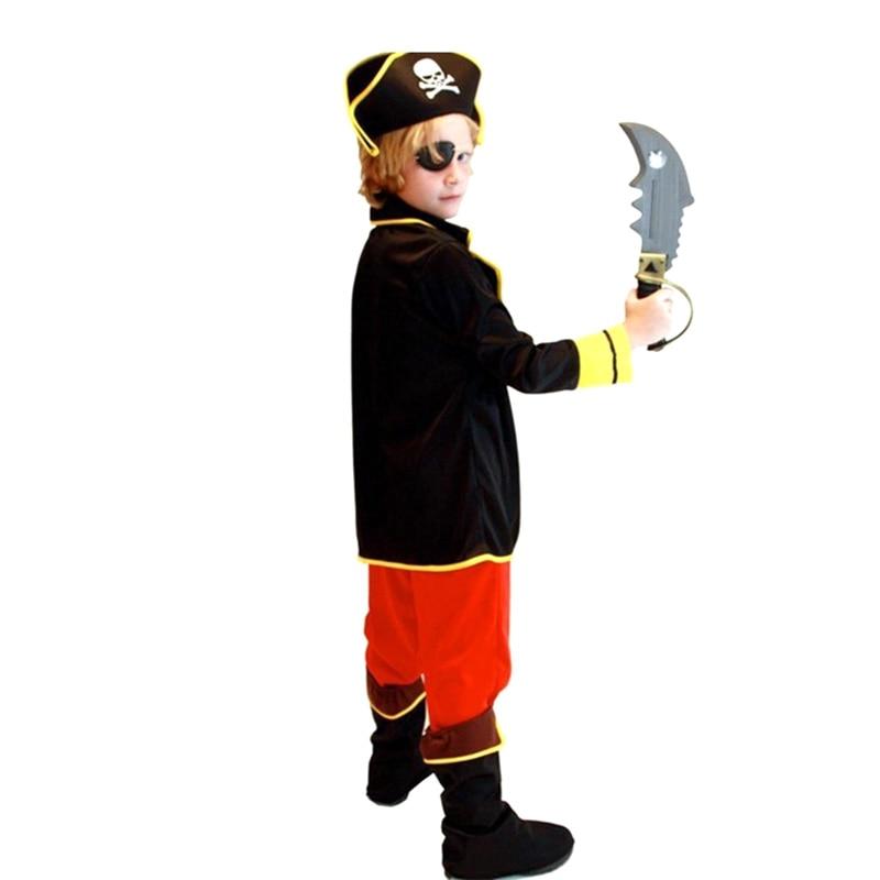 barn pojkar pirat kostymer / cosplay kostymer för pojkar / halloween - Maskeradkläder och utklädnad - Foto 5