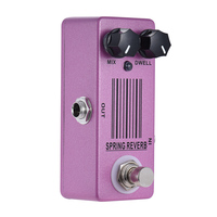 FLGT MOSKY MP 51 Spring Reverb Mini Single Guitar Effect Pedal True Bypass Guitar Parts & Accessories