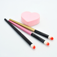 New High Quality 1 Pcs Round Eye Shadow Brush Professional Makeup Brushes Foundation Eyeshadow Contour Brush Blending Tool fafula professional makeup tool double ended contour define eye shadow brush black