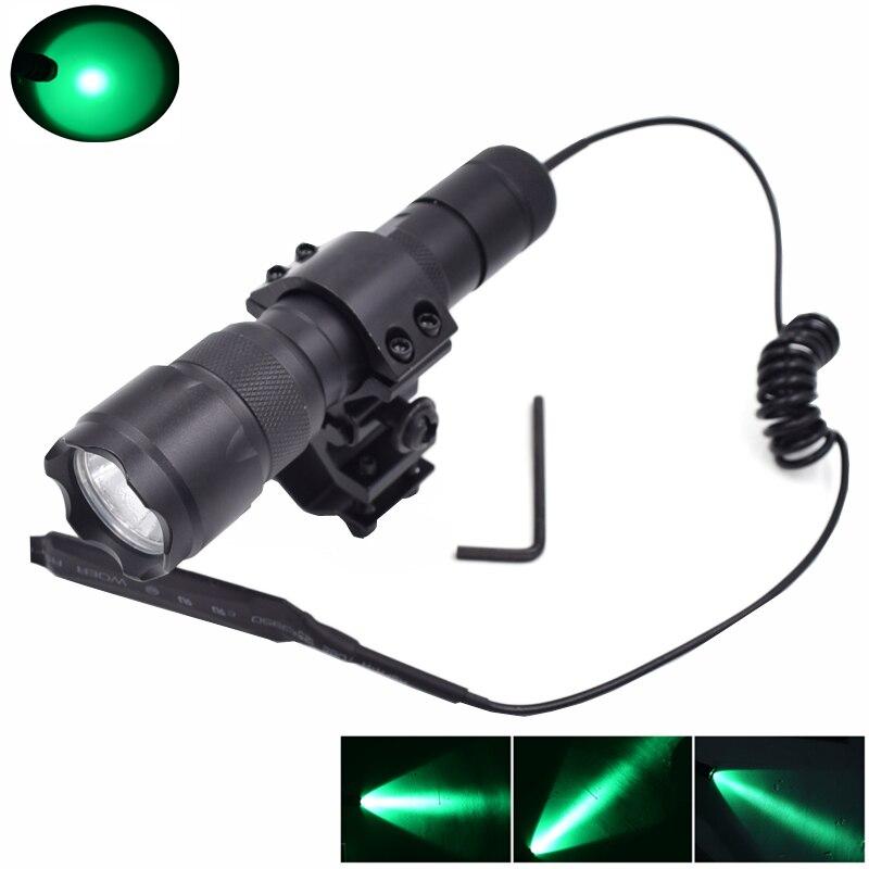 ᐊWF-502B LED torchlantern (luz verde) con la Linterna + interruptor ...