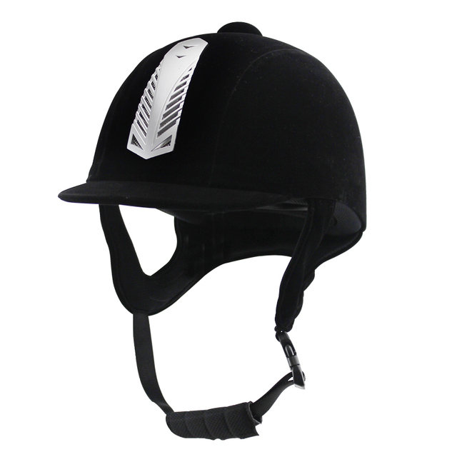 OSHOW For Adult Horse Riding Equipment Helmet Outdoor Sports ABS Unisex Half-Covered Safety Horse Riding Supplies For 58cm-62cm