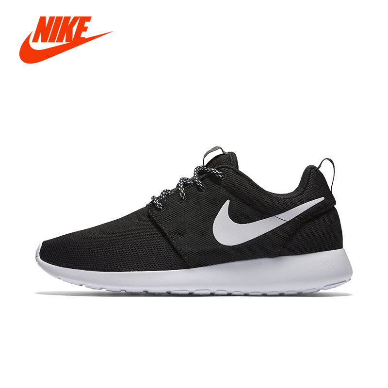 Original NIKE WMNS ROSHE RUN ONE Women Running Shoe Lightweigh Sport Sneakers Girl Children Kids Running Sneakers