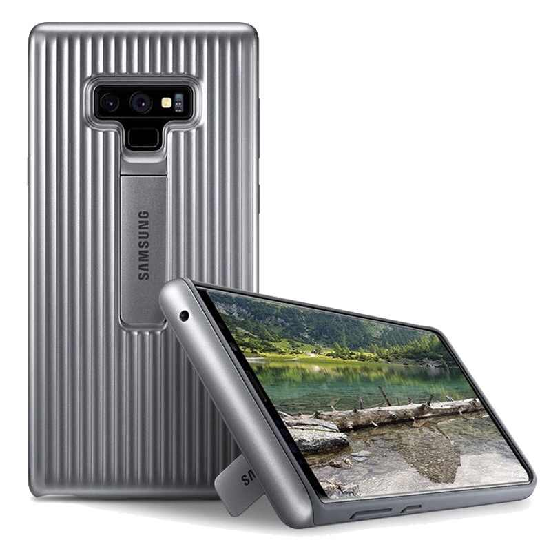 wholesale dealer e1320 6db5a 100% Original Official Samsung Galaxy Note9 Ultimate Device Protection  Cover Rugged Case SM-N960 Kickstand Black Silver