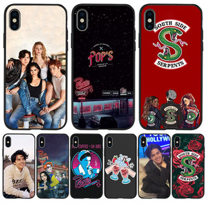 Luxury American TV Riverdale Southside For iPhone X XR XS Max 5 5S SE 6 6S 7 8 Plus phone Case Cover phone Funda Coque Etui capa(China)