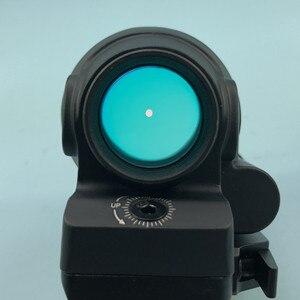 Image 4 - SRS 레드 닷 시력 1x38 QD 마운트 사냥 반사 시력 태양 광 발전 시스템 전술 소총 범위 Flashkiller 블랙