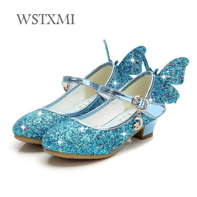 Children Princess Shoes for Girls High