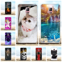 For Samsung Galaxy Note 4 Case Soft TPU N910F N910C Cover Cartoon Patterned Shell