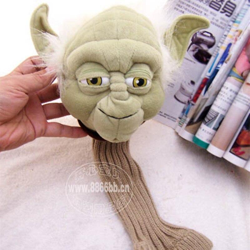 40CM Star Wars Yoda Plush Toys Yoda Golf Club Cover Tall fashion Send a friends birthday present40CM Star Wars Yoda Plush Toys Yoda Golf Club Cover Tall fashion Send a friends birthday present