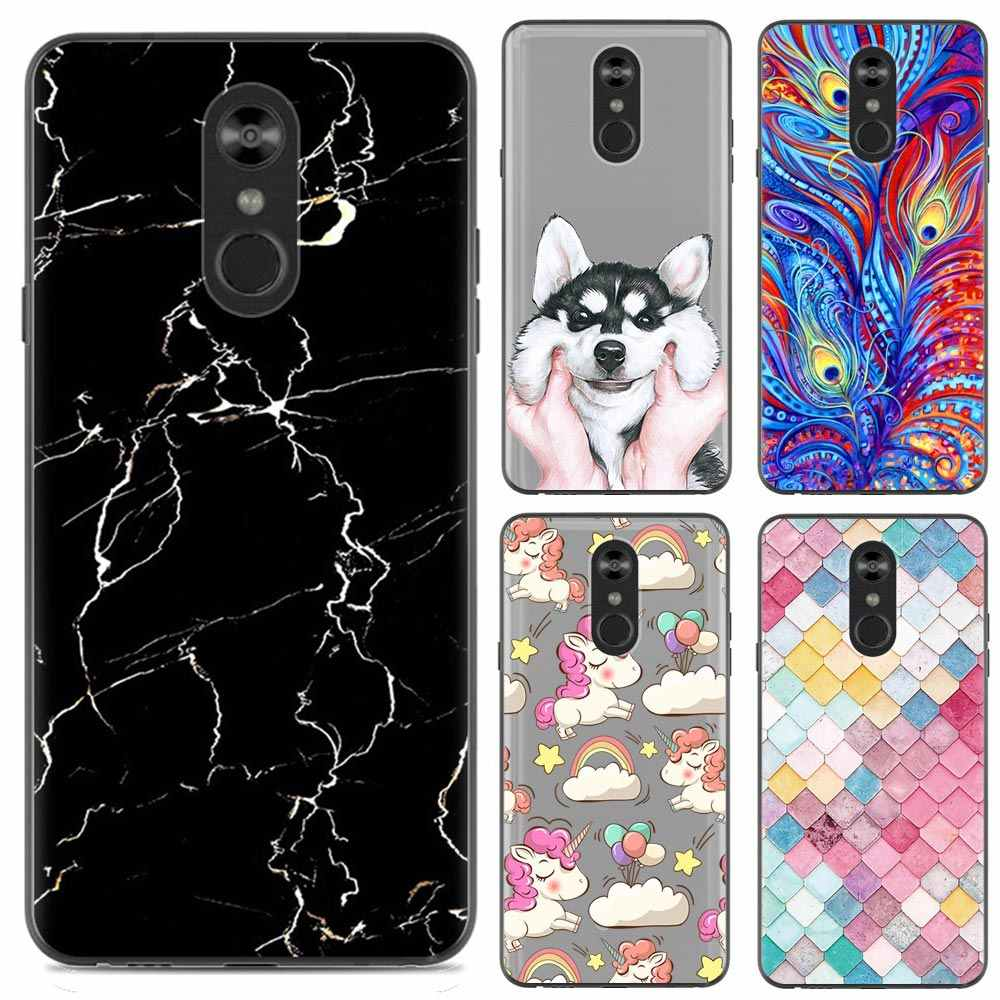 separation shoes d8cd4 58fcf Phone Case For LG Stylo 4 6.2-inch Unicorn Marble Flamingo New Arrival  Fashion Design Art Painted TPU Soft Case