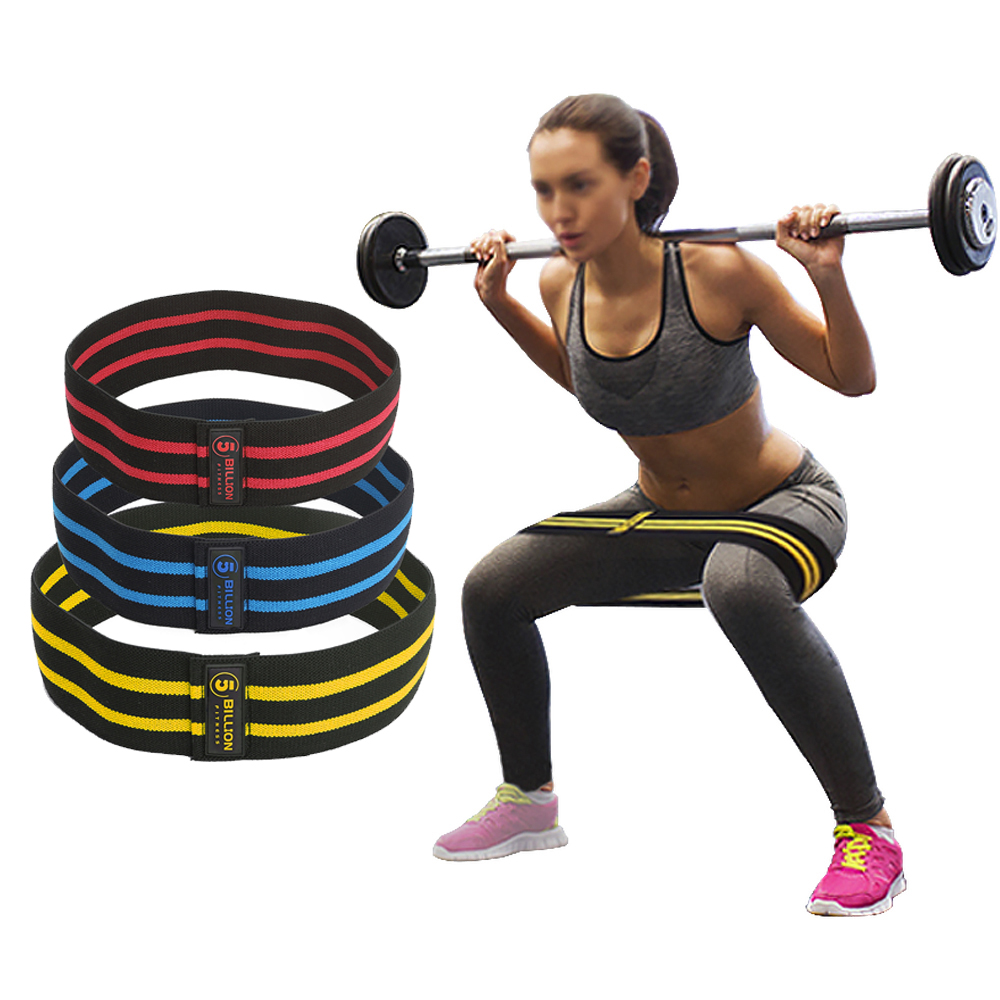 Soft /& Non-Slip Design Loop Set 5BILLION FITNESS for Butt Red-Medium Soft /& Non-Slip Design Loop Set Thigh /& Glutes Thigh /& Glutes 5BILLION Resistance Hip Exercise Bands