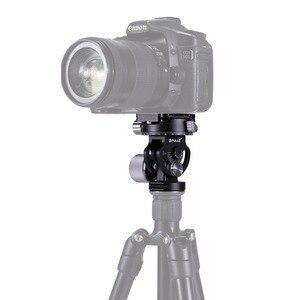 PULUZ 2-Way панорамирование/наклон штатива панорамная головка для фотографии с быстроразъемной пластиной и 3 пузырьковым уровнем для DSLR камеры ...