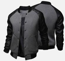 ZOGAA Новинка 2018 года для мужчин куртка Большие карманы s пальто для будущих мам и куртки тонкий Кнопка украшения бейсбол уличная