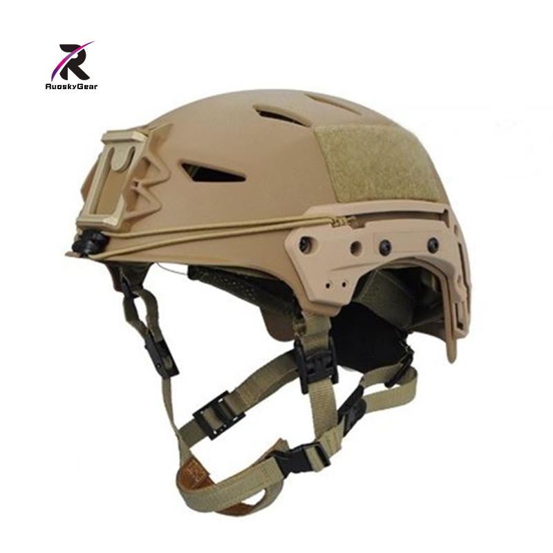 Sports Helmets airsoft NEW BUMP EXFLL Lite Military Tactical Helmet Gray AirsoftSports Paintball Combat Protection Free Shipping punk style solid color and rivets design women s shoulder bag