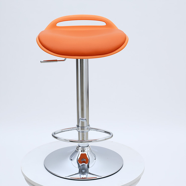 orange color seat public house stool American Country Bar Furniture Chair free shipping office coffee table desk stool изобретения
