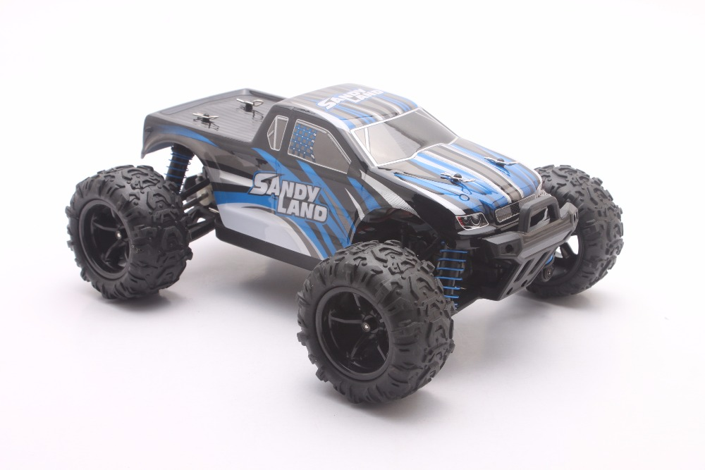 RC Car 2.4GHz Rock Crawler Rally Car 4WD Truck 1:18 Scale Off-road Race Vehicle Buggy Electronic RC Model Toy 9300-blue цена