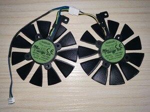 Image 3 - 新しい 87 ミリメートル T129215BU T129215SU グラフィックスカードファン asus ROG ストリックスデュアル gtx 1070 、 gtx 1060/RX 470 /570/580 RX570 RX580 RTX2060