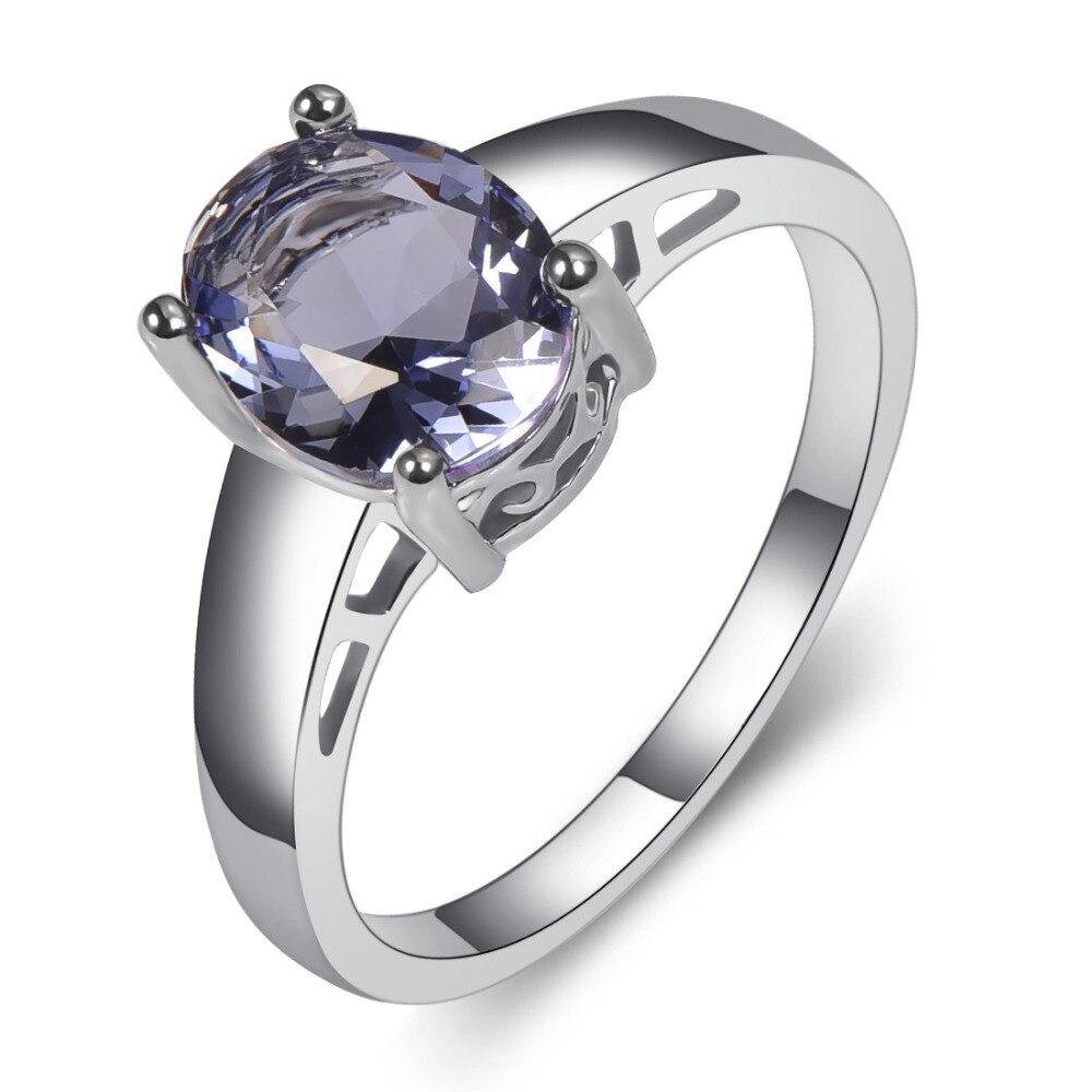 Beextraordinary Tanzanite Wedding Ring Set
