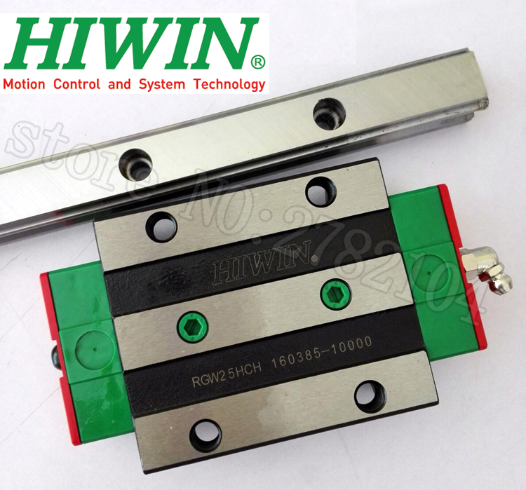 HIWIN RGW35 RGW35CC RG35 High Rigidity Roller Type Linear Guide Block Original HIWIN Rolling Linear Guide CNC Parts Stock 1pcs