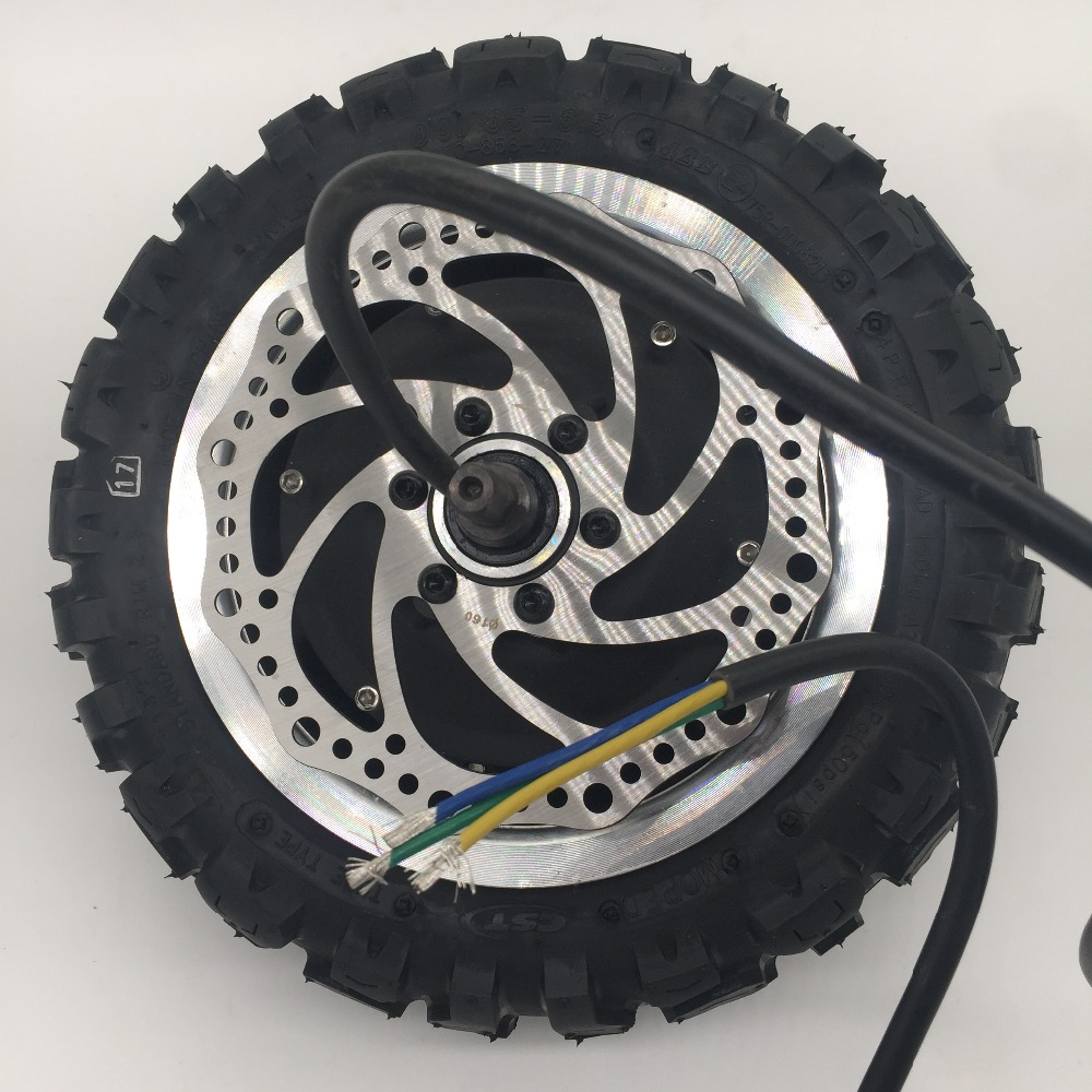 Ultra Motor with tire and disc Ultra wheel