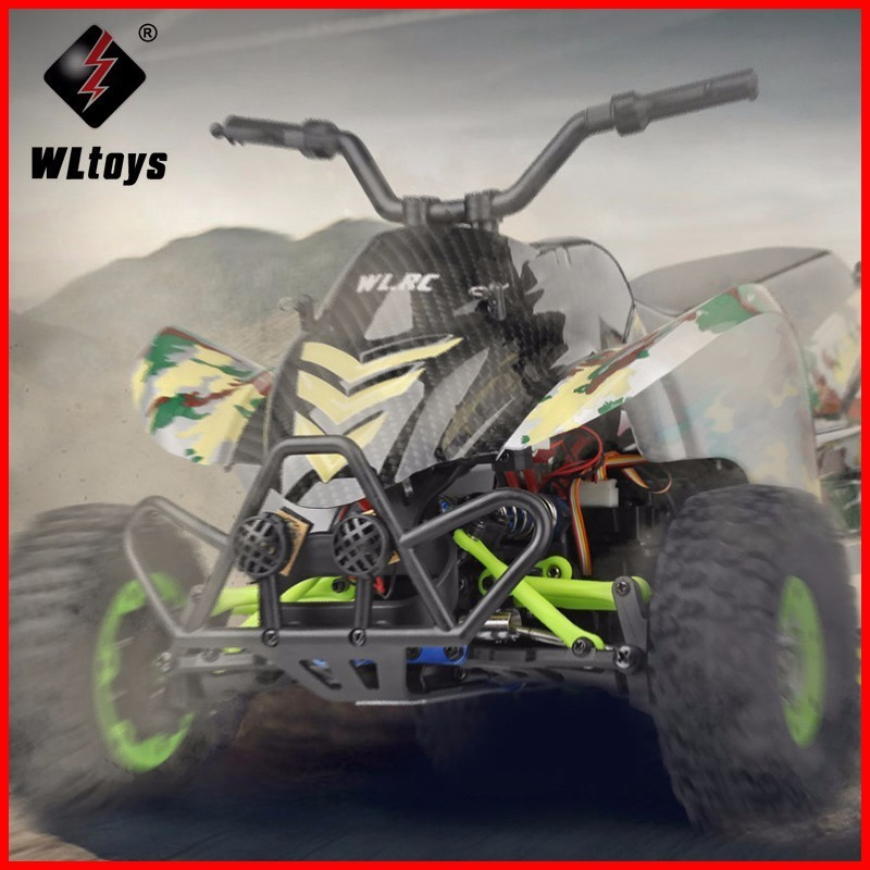 Original Wltoys 12428-A 1/12 2.4G 4WD 50km/h Electric Brushed Off-road Motorcycle LED Lights RTR RC Car Remote Control VehicleOriginal Wltoys 12428-A 1/12 2.4G 4WD 50km/h Electric Brushed Off-road Motorcycle LED Lights RTR RC Car Remote Control Vehicle