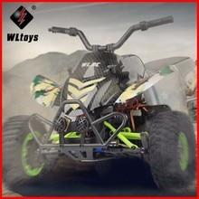 Original Wltoys 12428-A 1/12 2.4G 4WD 50km / h Eléctrico cepillado Off-Road motocicleta LED Luces RTR RC vehículo teledirigido