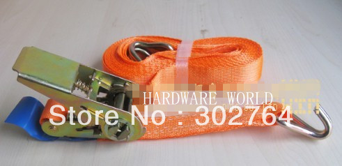 New1pcx 50mm x 12m  10,000lb Ratchet Strap J Hook Ratcheting Tie Hold Down HEAVY DUTY  цены
