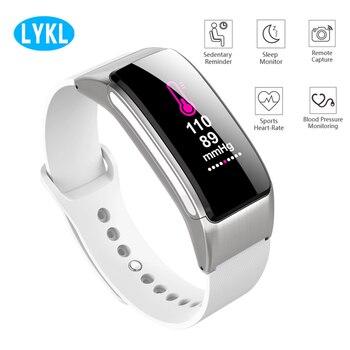 LYKL B31 Sport bande intelligente Bluetooth intelligent portable Bracelet de Fitness pression artérielle moniteur de fréquence cardiaque sédentaire rappeler Bracelet