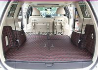 Best & Free shipping! Special trunk mats for Mitsubishi Pajero Sport 2015 2011 waterproof leather carpets for Pajero sport 2014